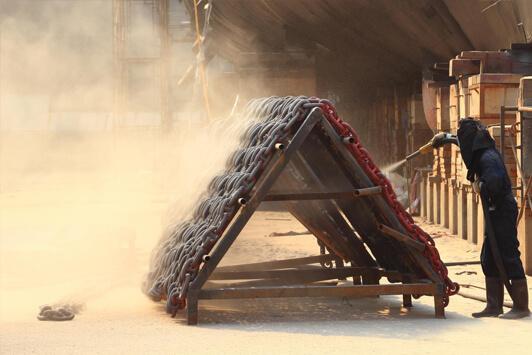 Sandblasting Las Vegas - Industrial Sandblasting 1